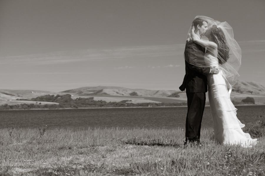 Kara and Scott, Point Reyes Station Wedding Photography