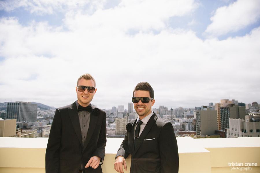 Geoff and Michael, Clift Hotel San Francisco Wedding