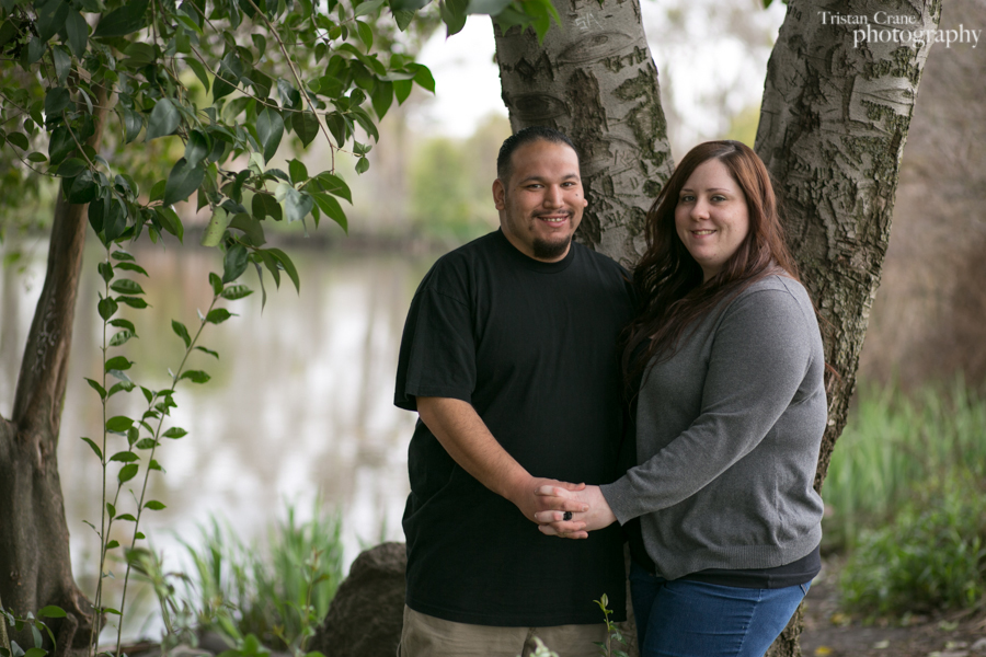Couple's portraits in Stockton
