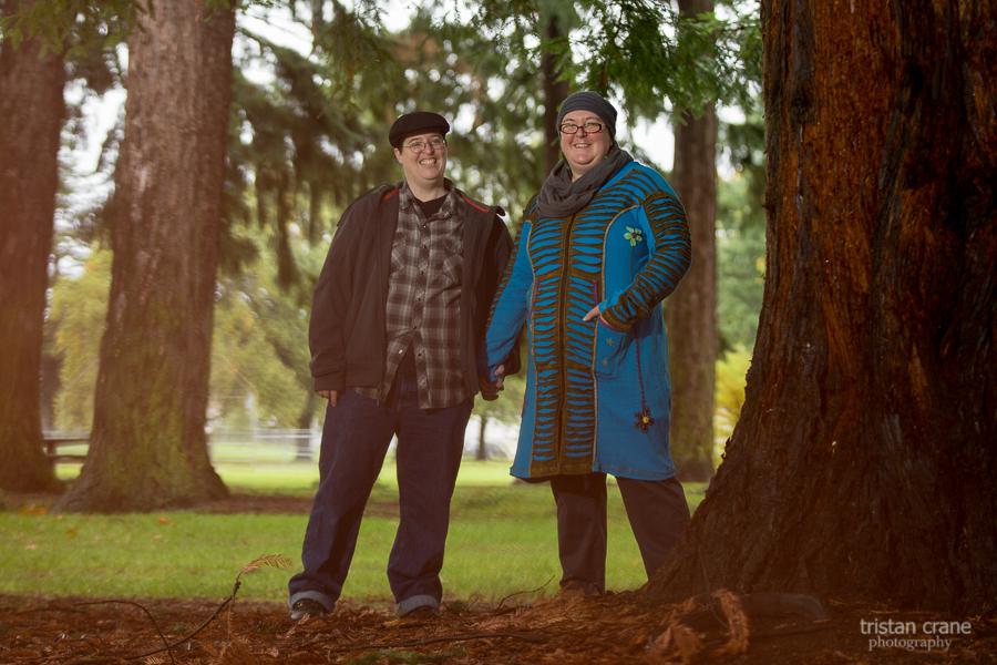 Portland Couple's Portrait