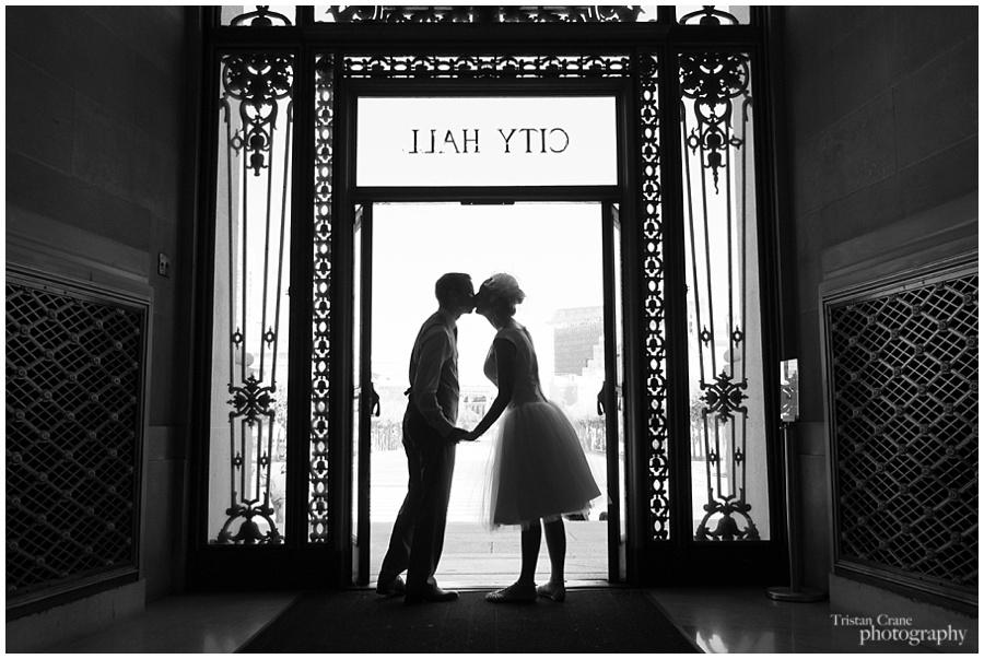 San Francisco City Hall Wedding, Jonathan and Maryam