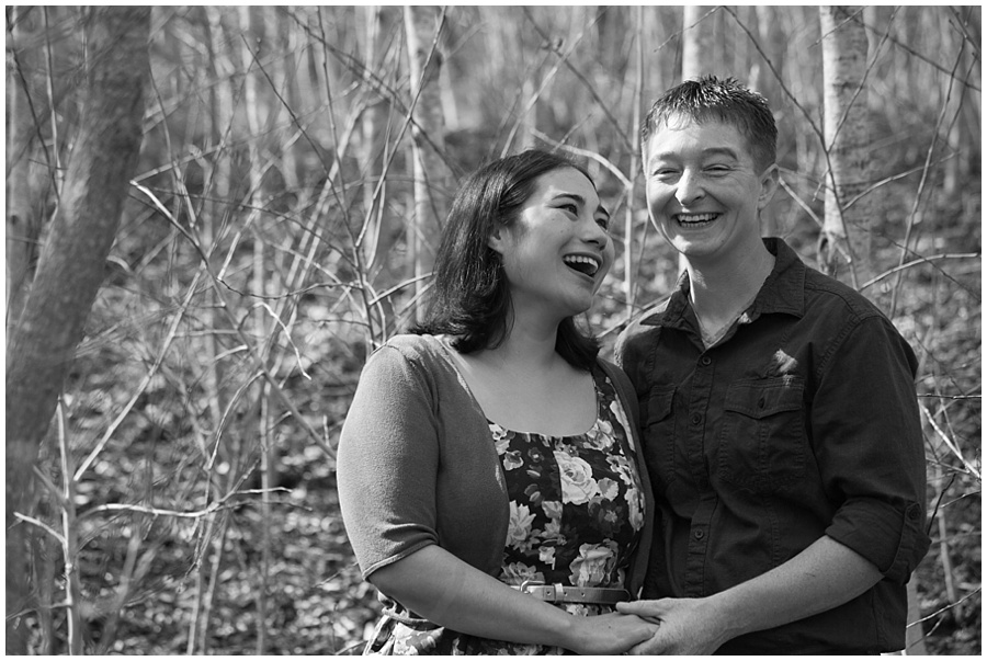 East Bay Engagement Session, Cathy and Melia