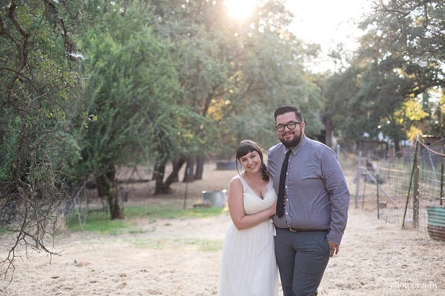 Sacramento Goat Farm Wedding